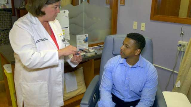 Aromatherapy is now available to patients at Sentara Martha Jefferson Hospital