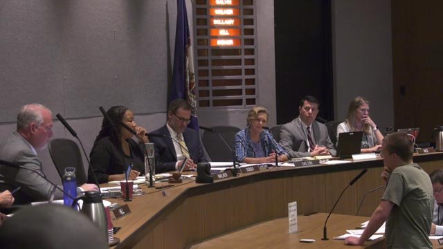 City Council meeting on Monday, August 20