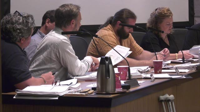 Board of Architectural Review meeting on Aug. 21