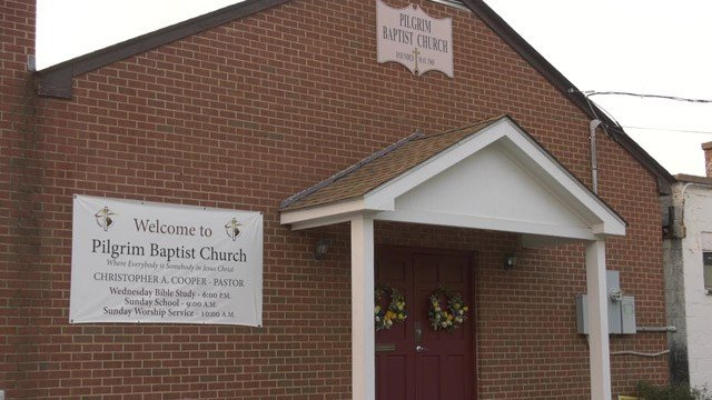 Pilgrim Baptist Church in Charlottesville (FILE IMAGE)