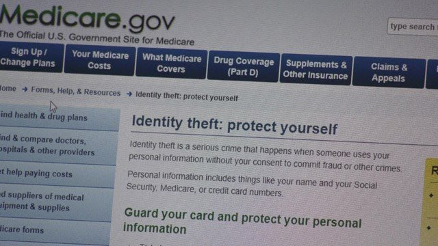 Scammers are asking for your social security number off your old Medicare card.