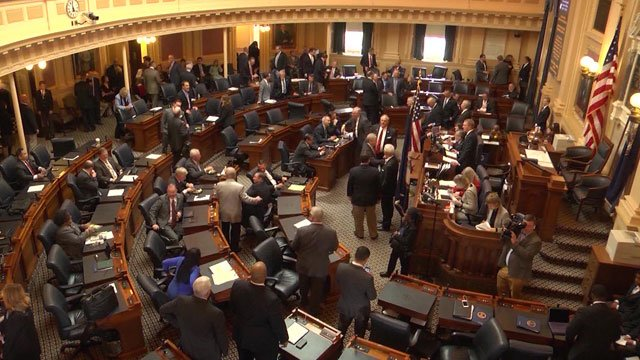 State legislators will meet on Thursday to redraw voting district lines.