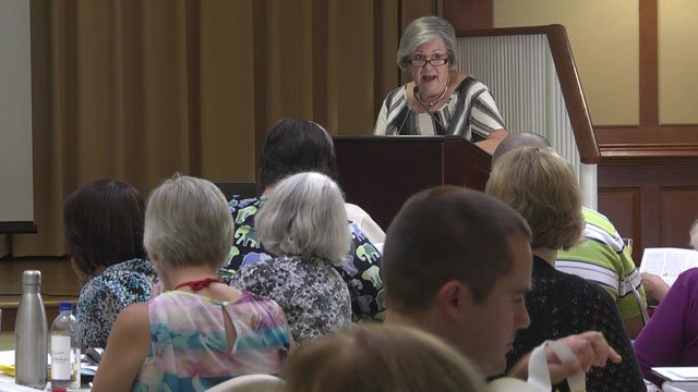 Liberman spoke to a caregivers conference about self-care.