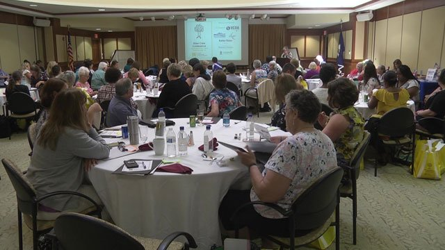 The conference was at Westminister Canterbury in Albemarle County.