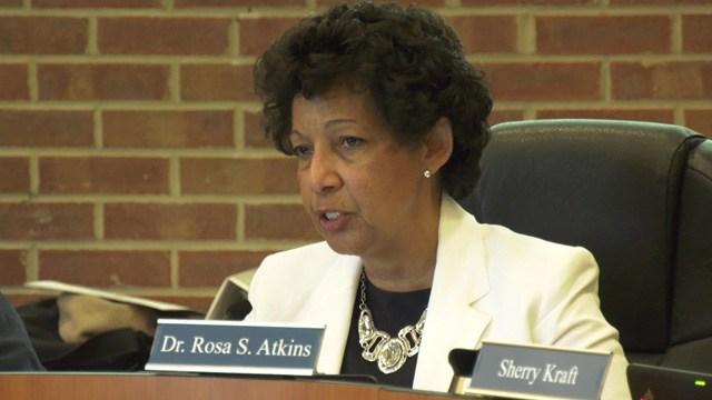 Superintendent Rosa Atkins.