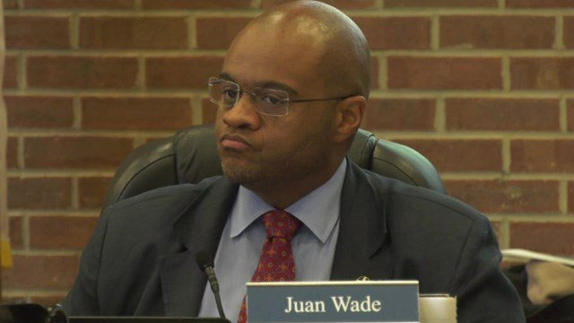 School board member Juan Wade.