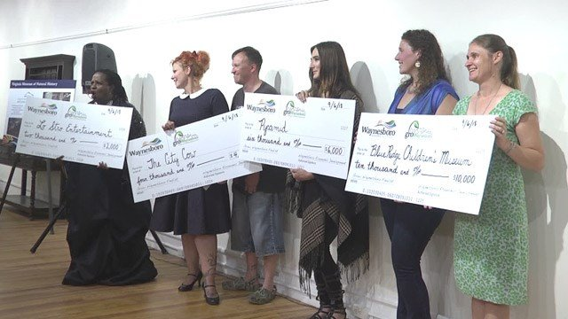 Grant funds awarded during Grow Waynesboro's Pitch Night