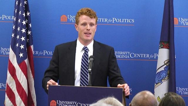 Massachusetts'4th District Congressman Joe Kennedy III.
