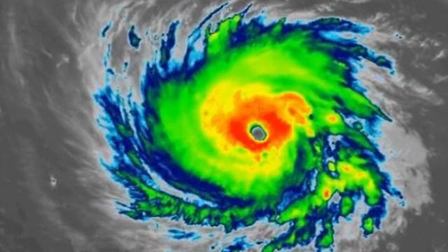 Hurricane Florence (Image courtesy NOAA)