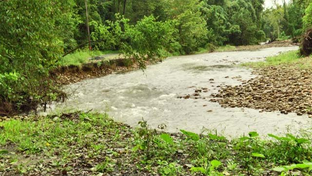 Rocky Road has experienced a lot of flooding this season
