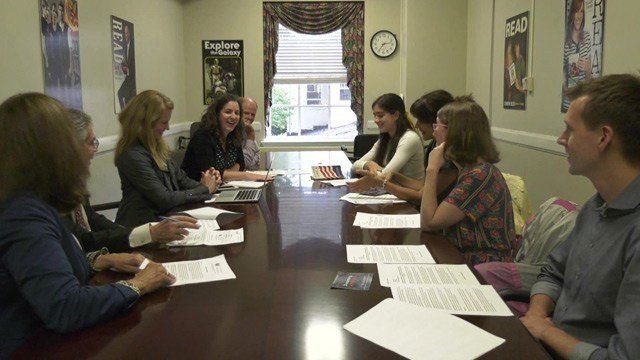 Organizers of Welcoming Week met on Monday to discuss plans and events.