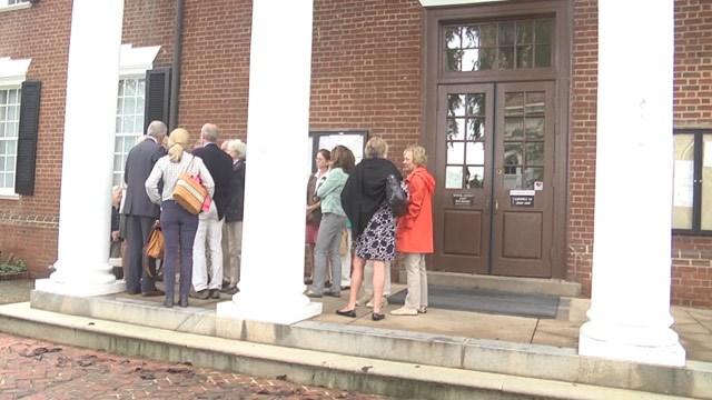 Plaintiffs in the Foxfield lawsuit outside Albemarle Circuit Court