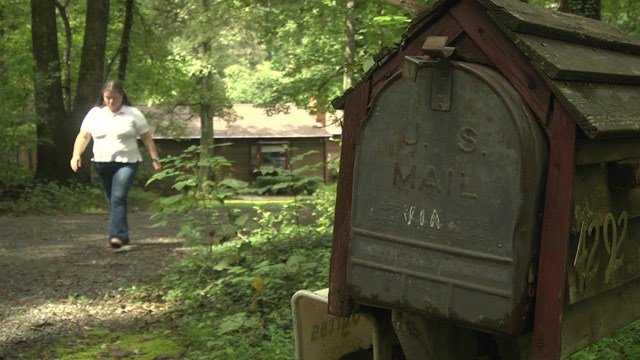 Some resident in Albemarle County are only getting their mail once a week.