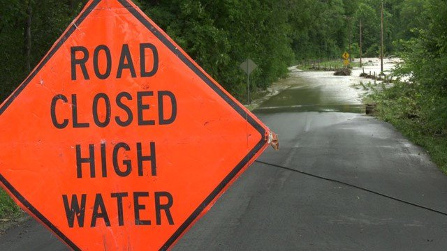 VDOT crews warn roads aren't designed to handle 10-plus inches of rain.