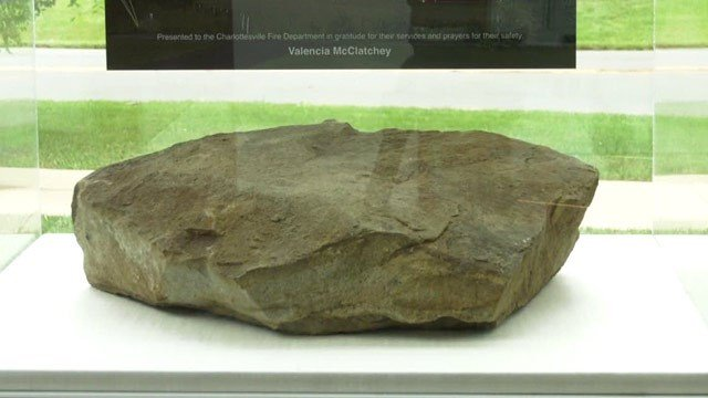 Rock from the field in Shanksville where United Flight 93 crashed