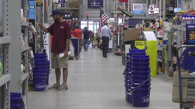 Lowes is out of generators, as of Wednesday.