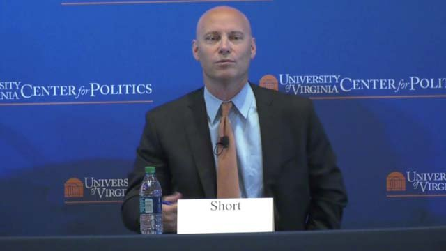 Former Trump aide Marc Short is leaving UVA to return to the White House.