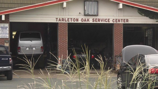 A new mixed-use development was approved where the Tarleton Oak Service Station stands now.