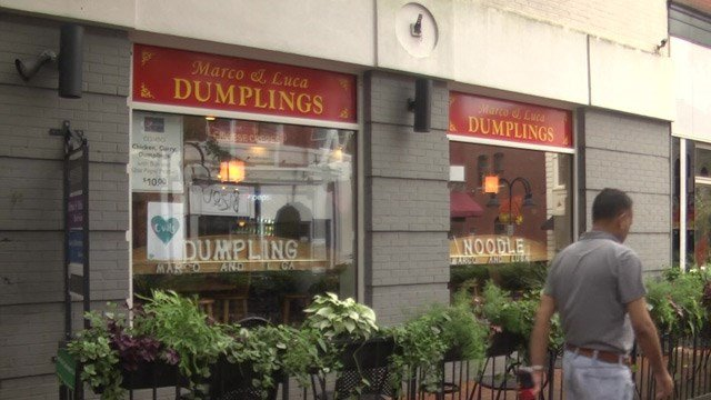 The poplar Marco and Luca Dumplings is run by refugee Dragana Katalina-Sun.