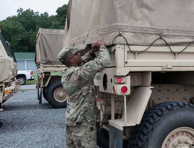 National Guard Preparations