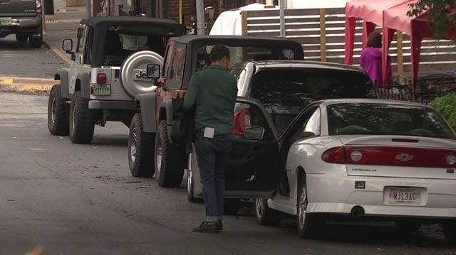 Belmont parking