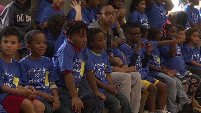 The Boys and Girls Club hosted a party for the occasion on Sept. 17