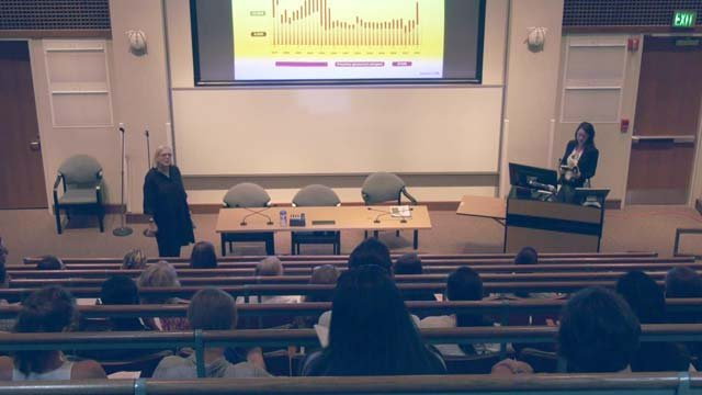 Martina Scholtens spoke to UVA students on Sept. 19