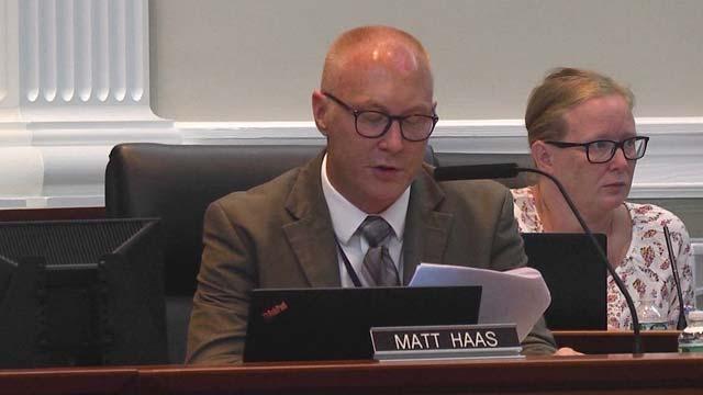 Superintendent Matt Haas