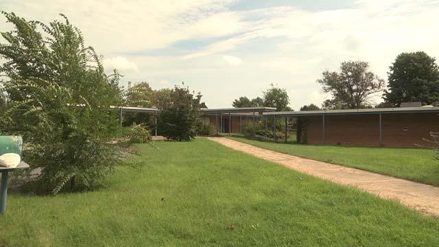 The former Ladd Elementary School