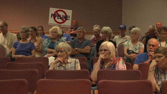 The Atlantic Coast Pipeline is waiting for permission to build in Augusta County.