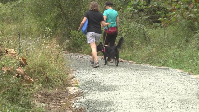 The trail upgrades will provide easier access to downtown Crozet.
