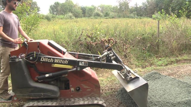 Crews hope the upgrades will keep the trails in good shape during heavy rains.
