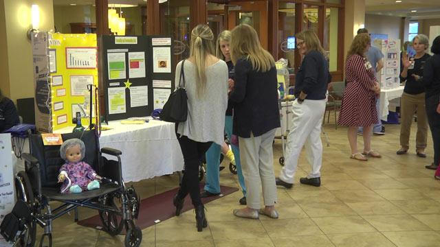 Sentara Martha Jefferson hosted a safety fair on Friday.