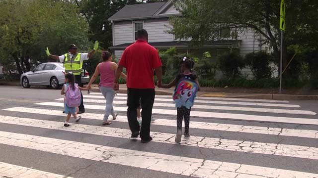 Hill was named one of Virginia's best crossing guards in 2015