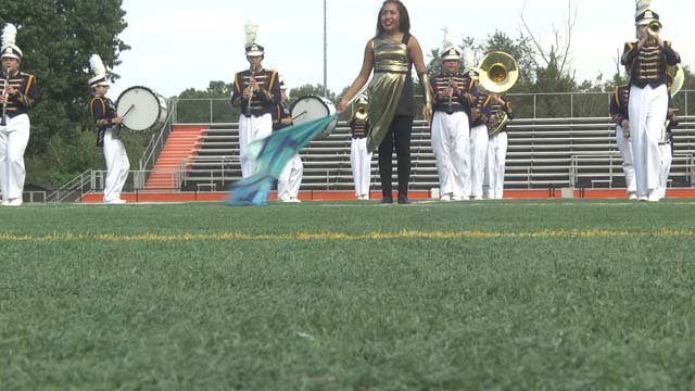 Marching bands from all across the state competed on Oct. 6