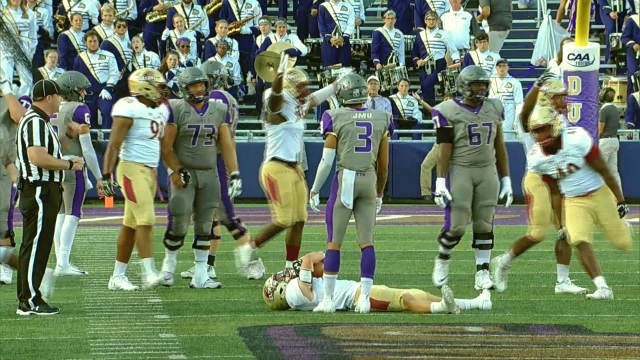 JMU lost at home for the first time since 2015