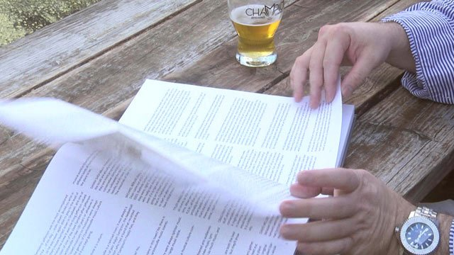 A book release signing party was hosted at Champion Brewing Company on Sunday.