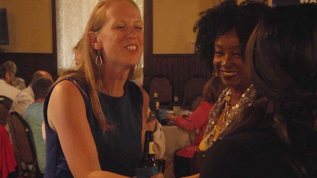 Jennifer Lewis was campaigning and fundraising in the Shenandoah Valley on Sunday.
