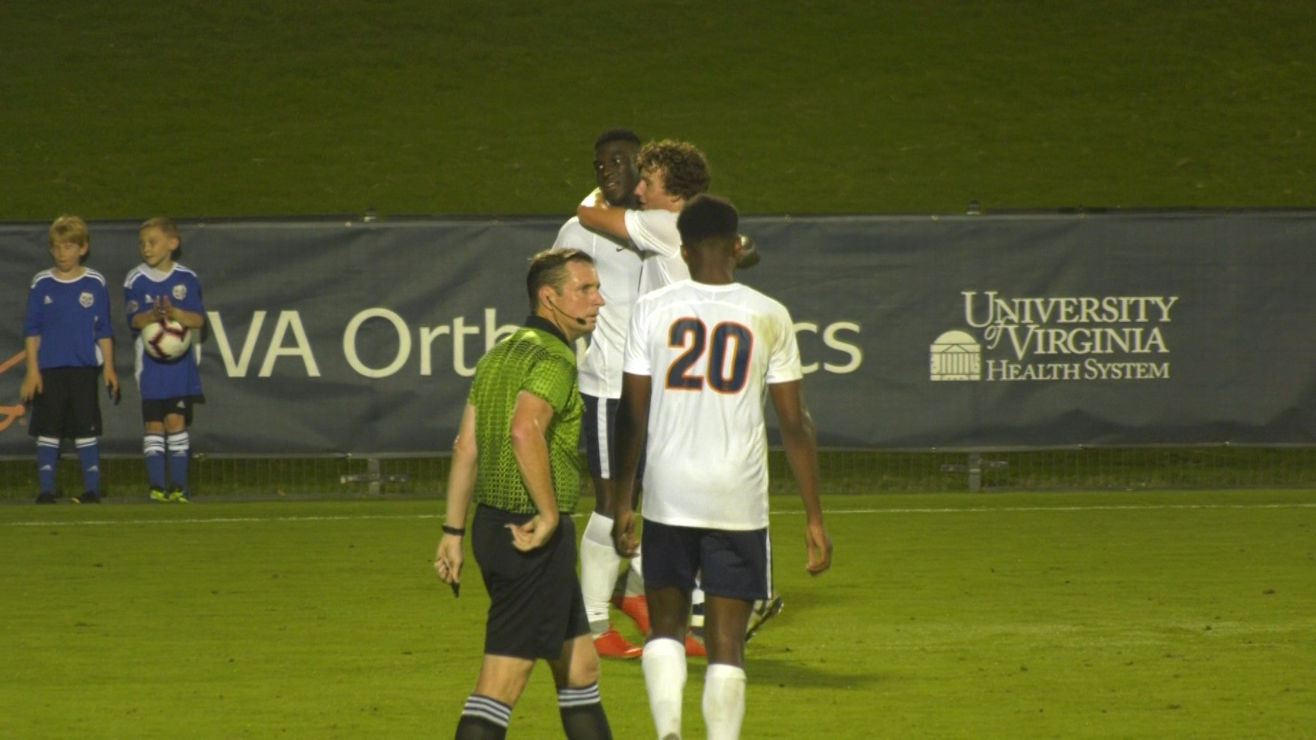 UVa's Daryl Dike scored two goals against Denver
