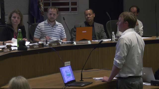 Justin Shimp addressed planners on October 9