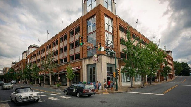 Water Street Parking Garage (Photo courtesy City of Charlottesville)