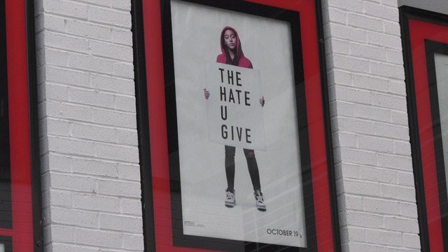 The Hate U Give will have a free showing at Regal Stonefield on Friday.