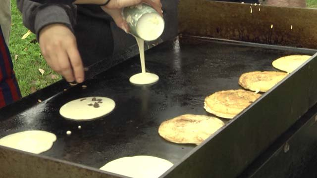 This is the 15th year of Pancakes for Parkinson's