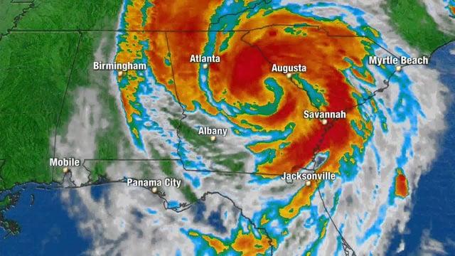 Tropical Storm Michael.