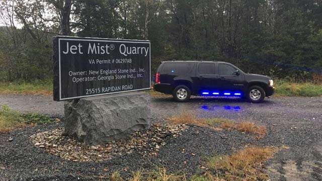 Jet Mist Quarry in Culpeper County