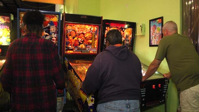 The arcade offers games for the whole family