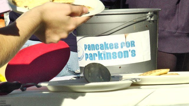 Annual Pancakes for Parkinson's fundraiser at UVA