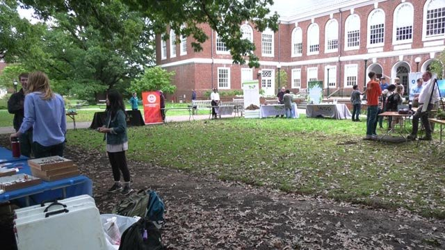 UVA hosted a sustainable energy expo on Monday.