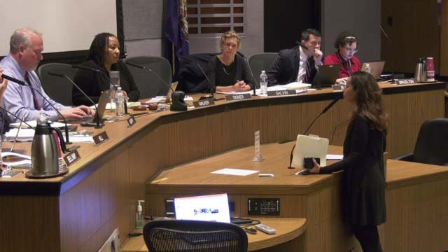 Brackney addressed council on October 15