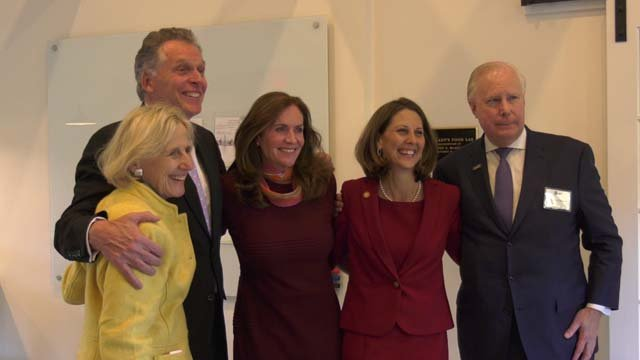 The event honored former first lady Dorothy McAuliffe